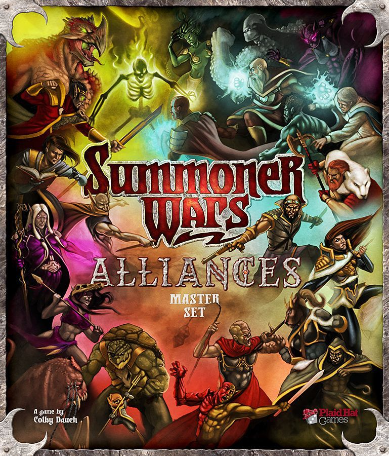 настольная игра Summoner Wars: Alliances Master Set Summoner Wars: набор мастеров альянсов