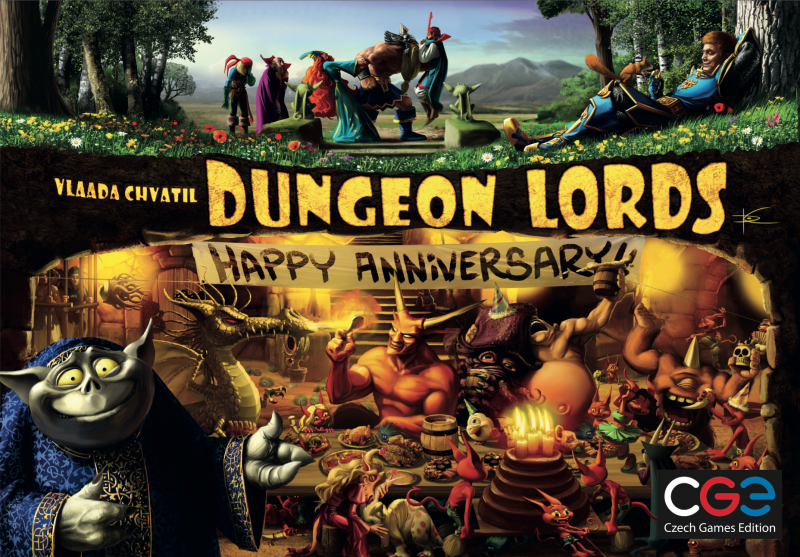 настольная игра Dungeon Lords: Happy Anniversary