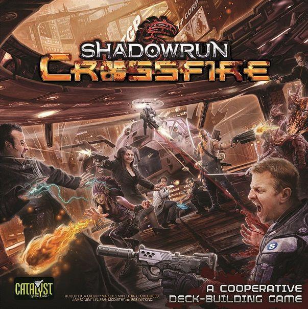 настольная игра Shadowrun: Crossfire Shadowrun: перекрестный огонь