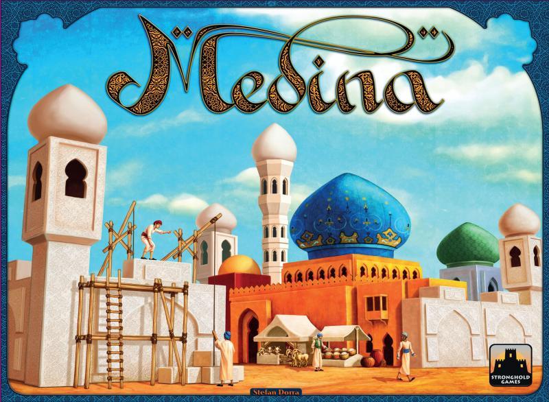 настольная игра Medina (second edition) Медина (второе издание)