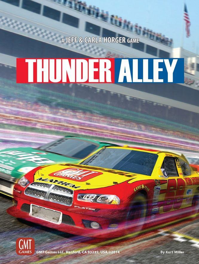 настольная игра Thunder Alley Громовая аллея