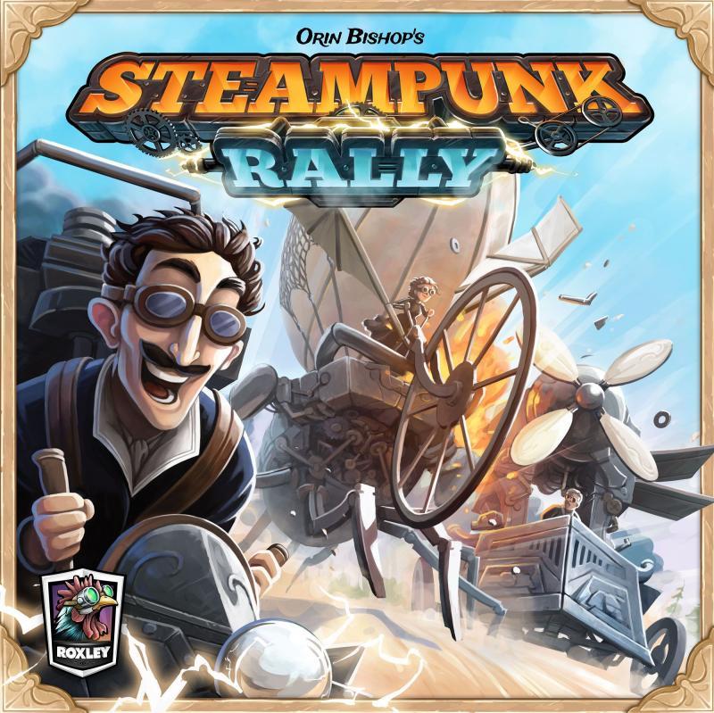 настольная игра Steampunk Rally Стимпанк Ралли