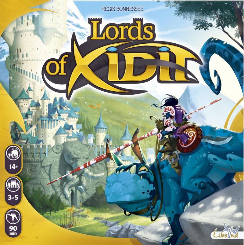 настольная игра Lords of Xidit Повелители Ксидита