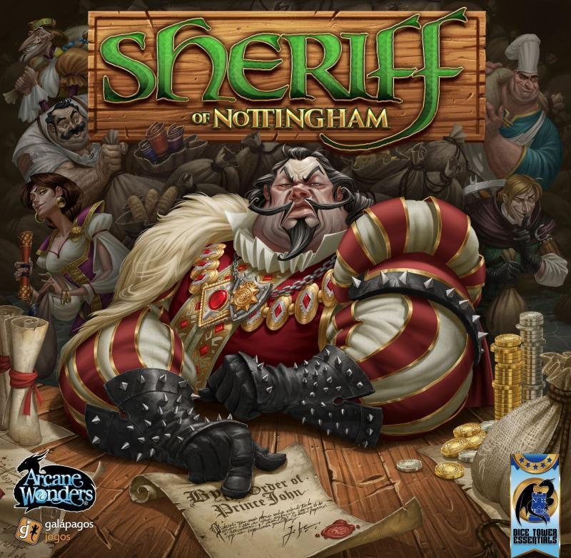 настольная игра Sheriff of Nottingham Шериф Ноттингемский