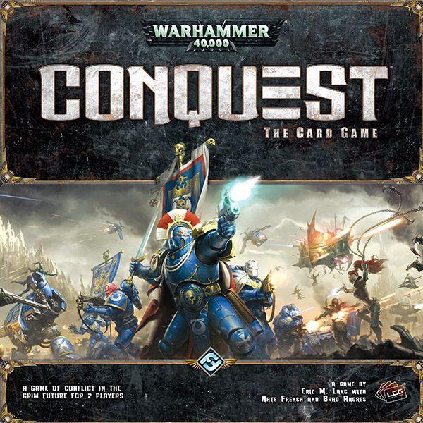 настольная игра Warhammer 40,000: Conquest Warhammer 40000: завоевание