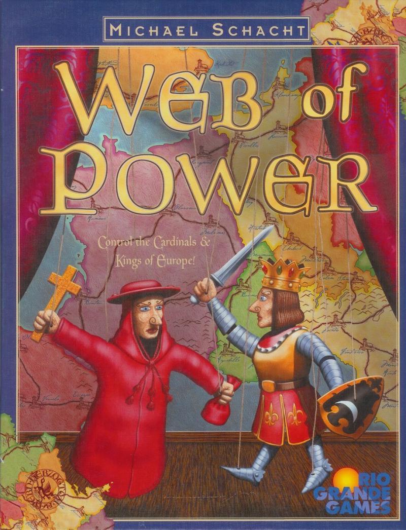 настольная игра Web of Power Сеть Силы
