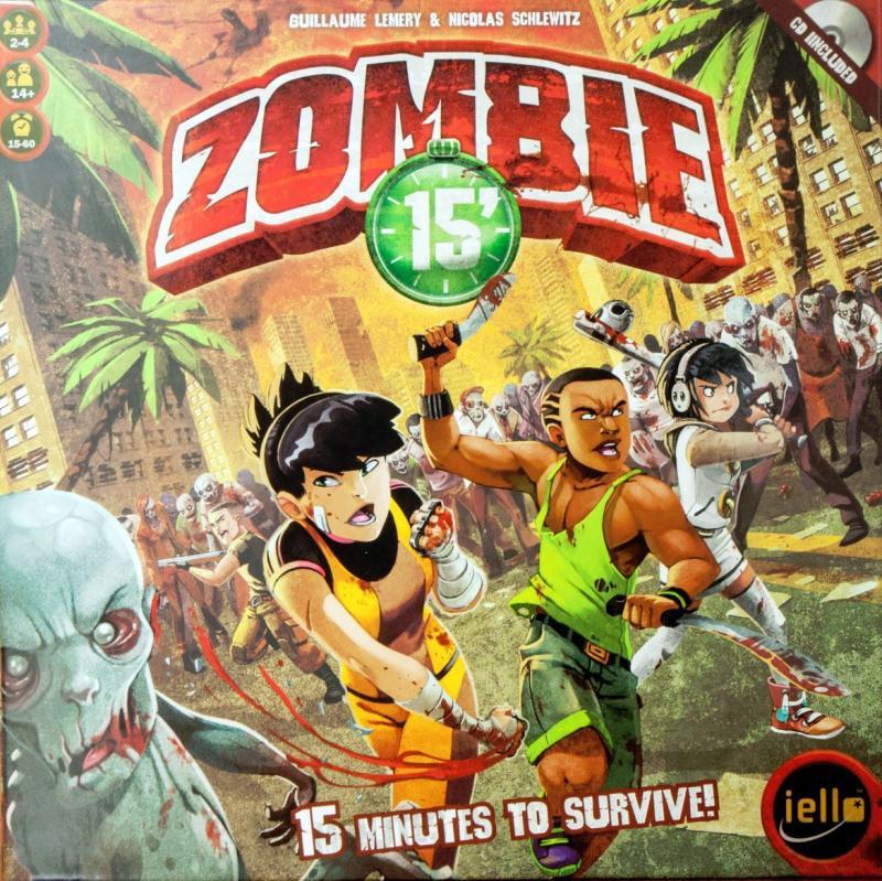 настольная игра Zombie 15' Зомби 15 '