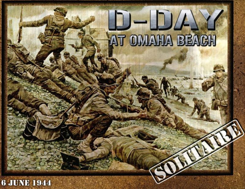 настольная игра D-Day at Omaha Beach День Д на пляже Омахи