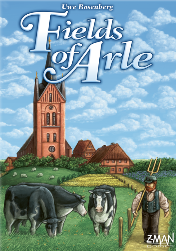настольная игра Fields of Arle Поля Арле