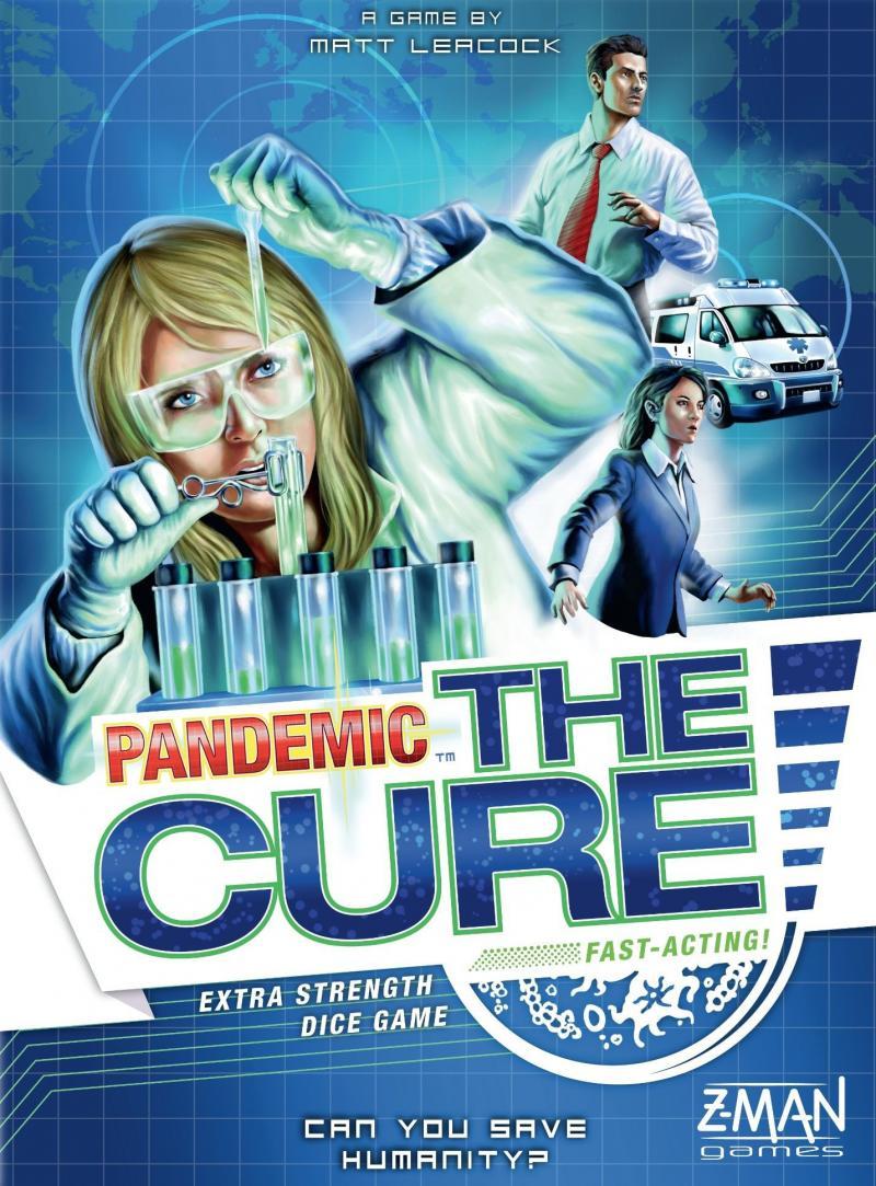 настольная игра Pandemic: The Cure Пандемия: лекарство