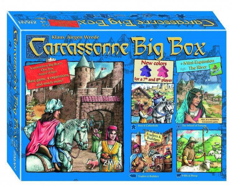 настольная игра Carcassonne Big Box 5 Каркассон Биг Бокс 5