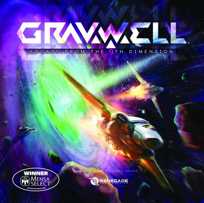 настольная игра Gravwell: Escape from the 9th Dimension Gravwell: побег из 9-го измерения