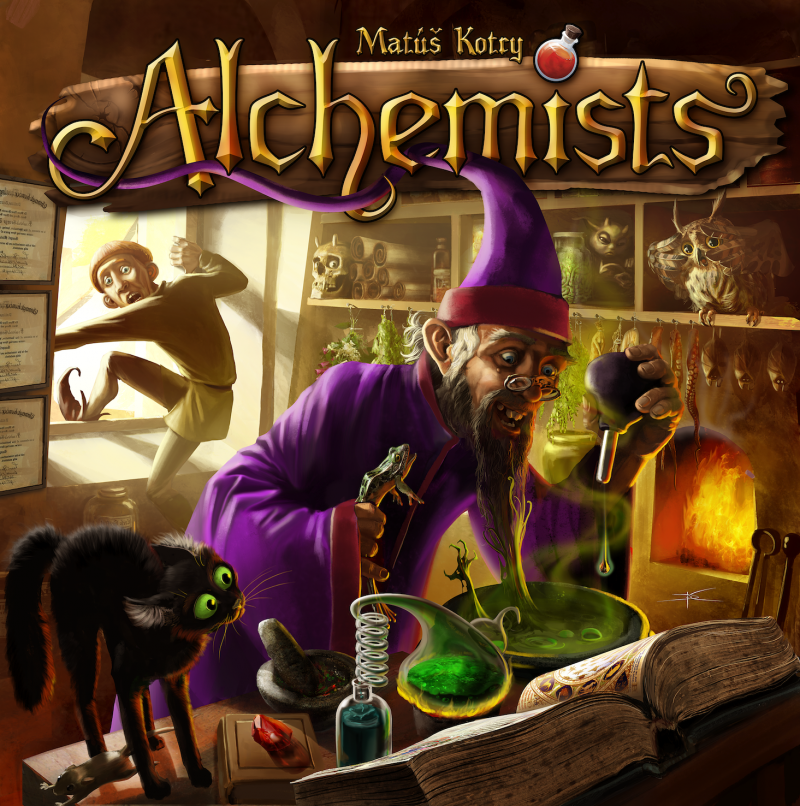настольная игра Alchemists Алхимики
