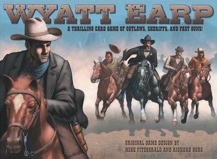 настольная игра Wyatt Earp Уайатт Эрп