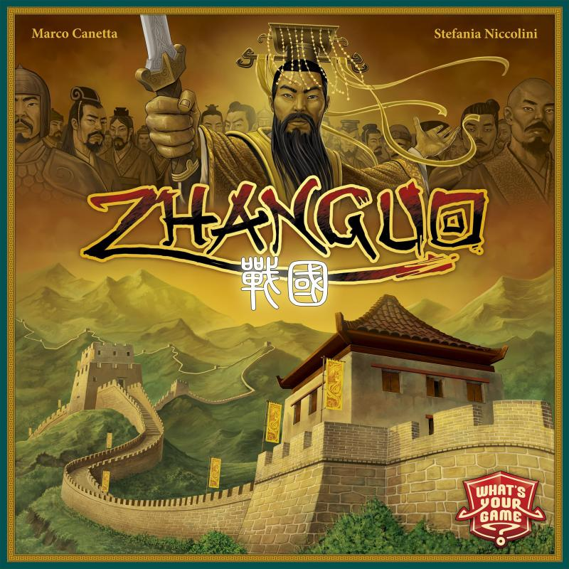 настольная игра ZhanGuo Zhanguo