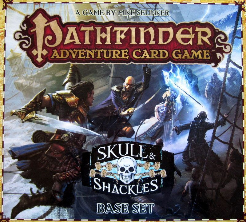 настольная игра Pathfinder Adventure Card Game: Skull & Shackles – Base Set Pathfinder Adventure Card Game: Череп и кандалы - Базовый набор