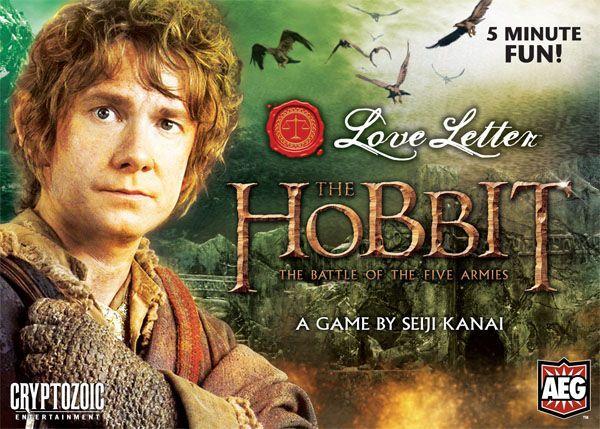 настольная игра Love Letter: The Hobbit – The Battle of the Five Armies Любовное письмо: Хоббит - Битва пяти армий