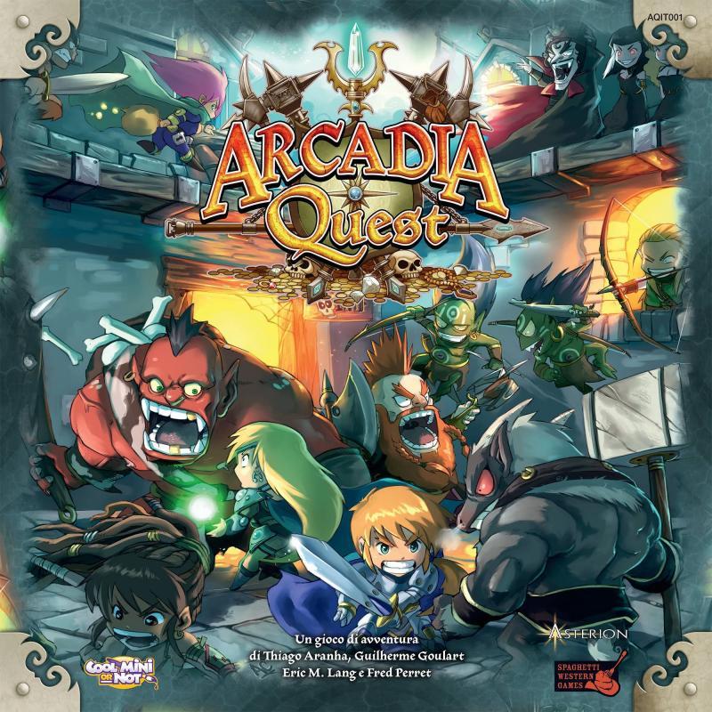 настольная игра Arcadia Quest Аркадия Квест