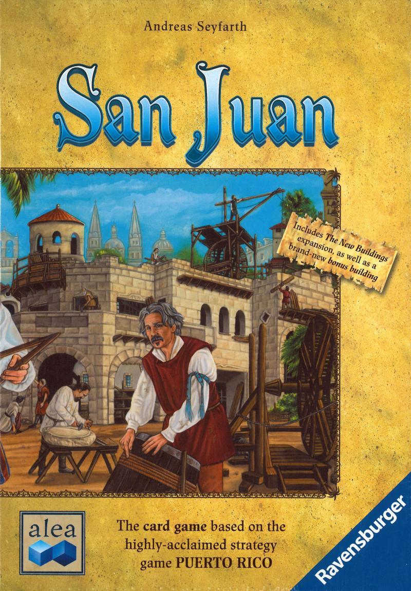 настольная игра San Juan (Second Edition) Сан-Хуан (второе издание)