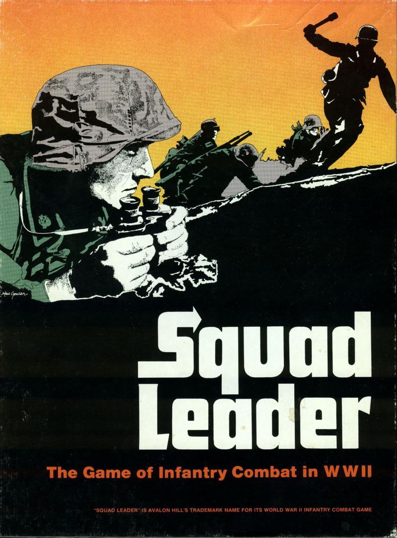 настольная игра Squad Leader Лидер команды