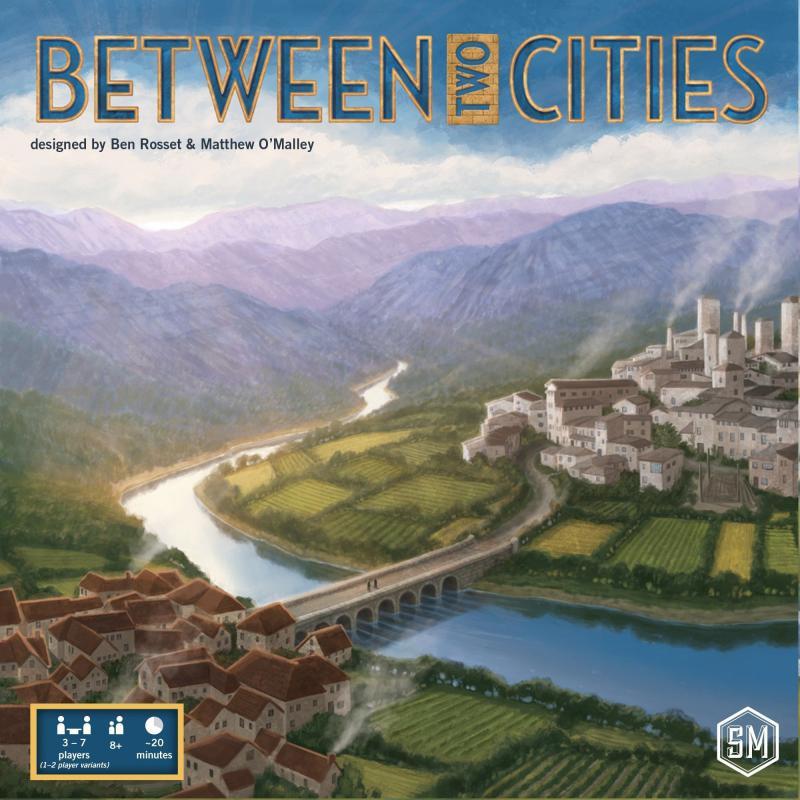 настольная игра Between Two Cities Между двумя городами