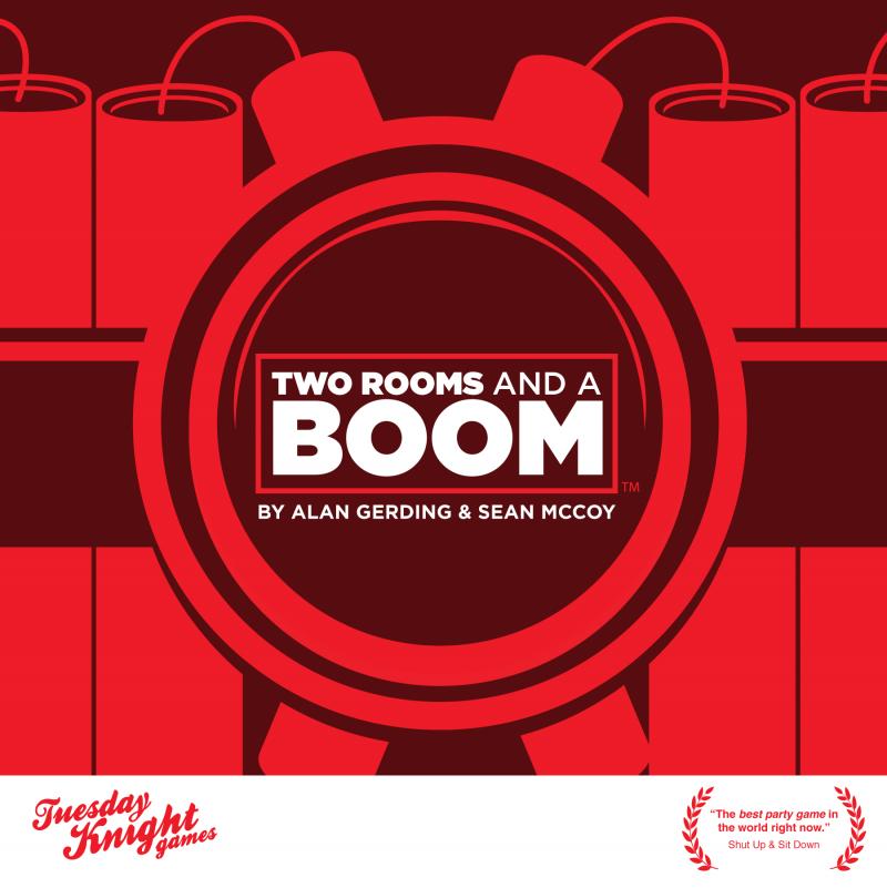 настольная игра Two Rooms and a Boom Две комнаты и бум