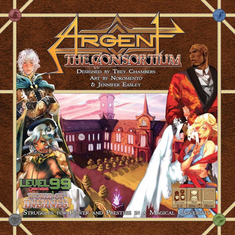 настольная игра Argent: The Consortium Арджент: Консорциум
