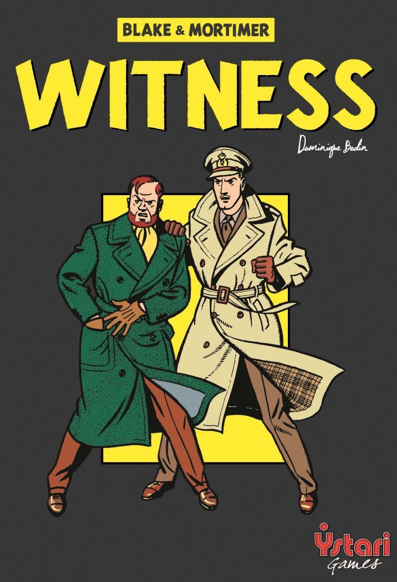настольная игра Witness Свидетель