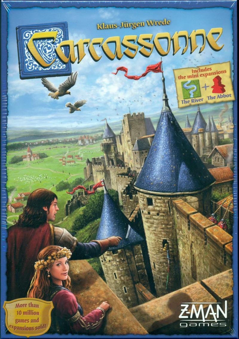 настольная игра Carcassonne Каркассон