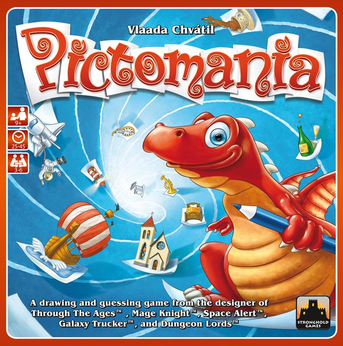 настольная игра Pictomania