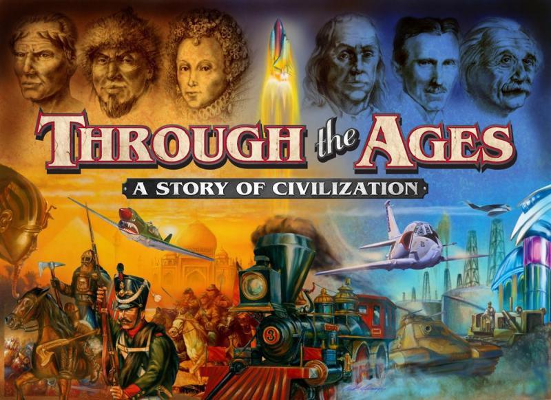 настольная игра Through the Ages: A Story of Civilization Сквозь века: история цивилизации