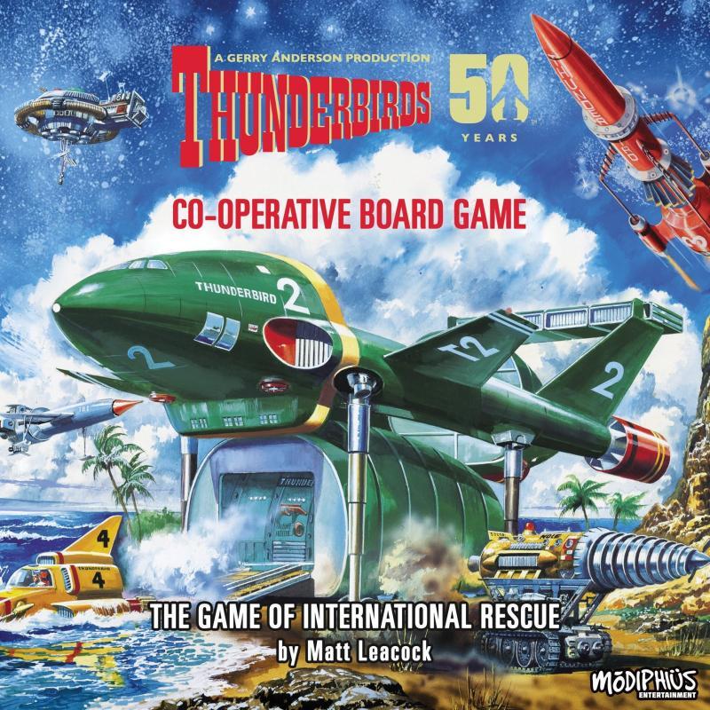 настольная игра Thunderbirds