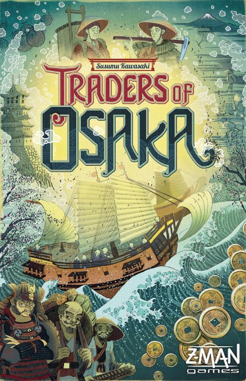 настольная игра Traders of Osaka Торговцы Осаки