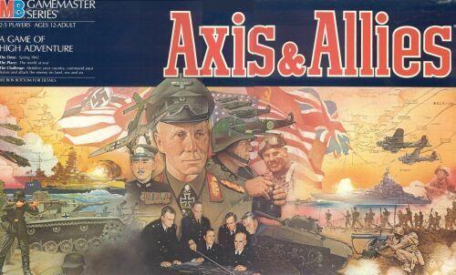 настольная игра Axis & Allies Ось и союзники