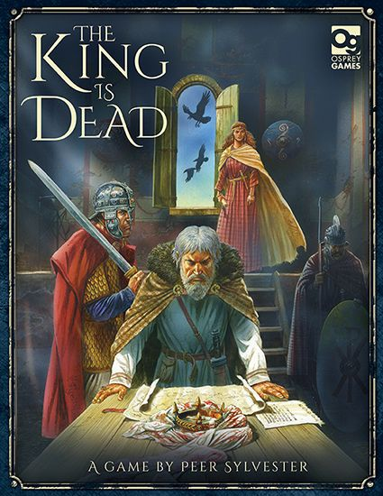 настольная игра The King Is Dead Король мертв