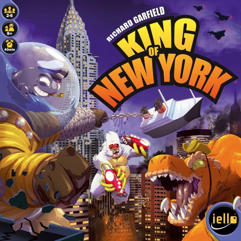 настольная игра King of New York Король нью йорка