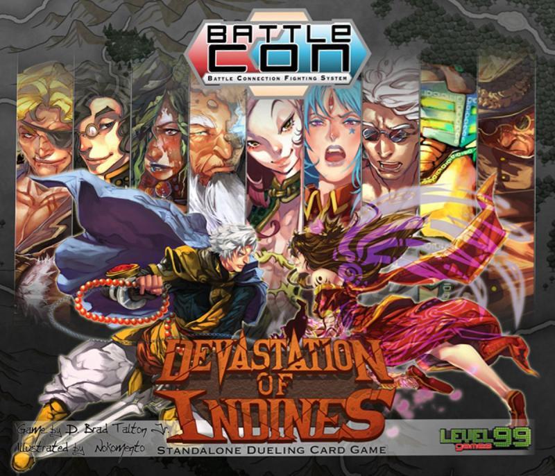 настольная игра BattleCON: Devastation of Indines BattleCON: опустошение индейцев