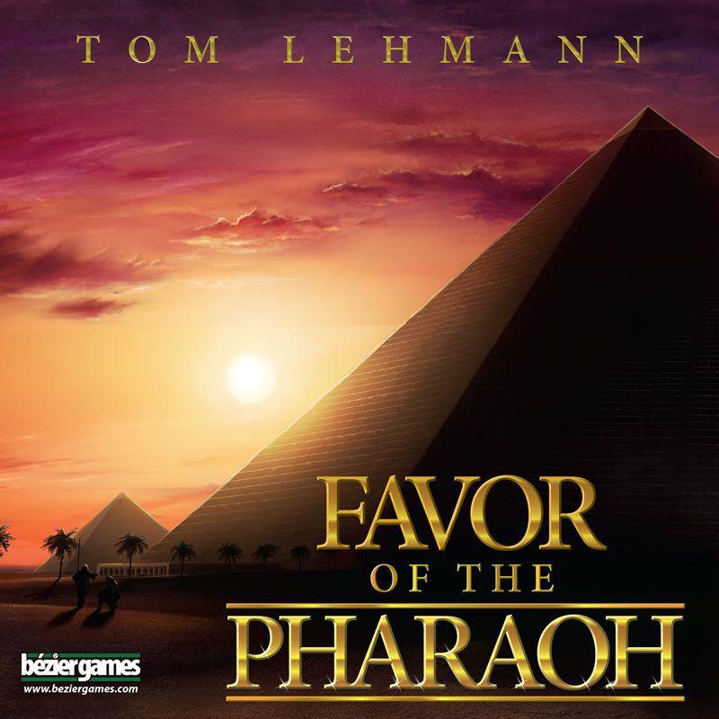 настольная игра Favor of the Pharaoh Благосклонность фараона