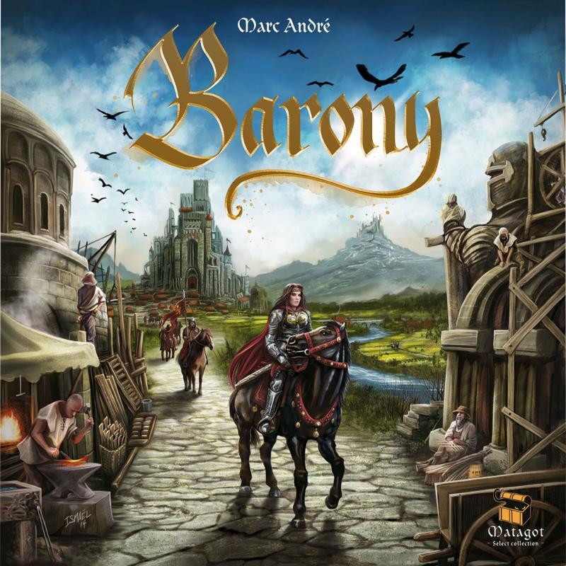 настольная игра Barony Вотчина