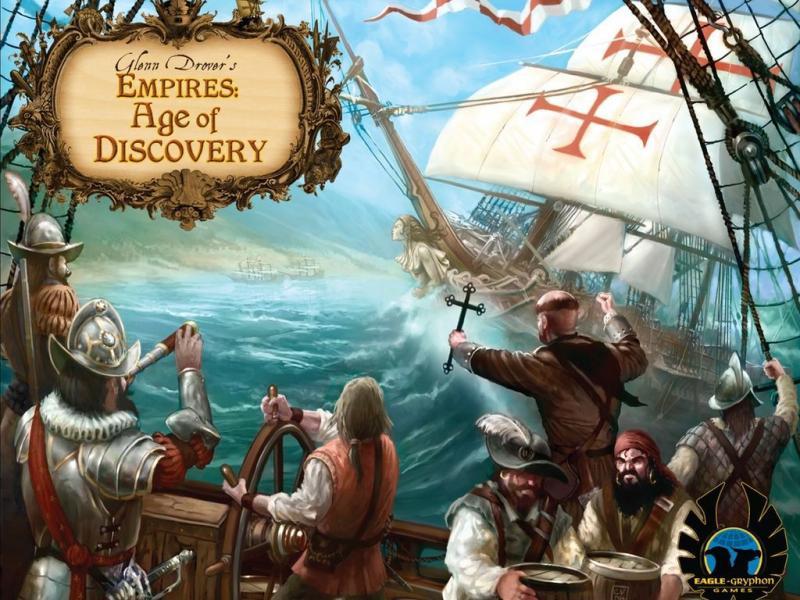 настольная игра Empires: Age of Discovery Империи: эпоха открытий