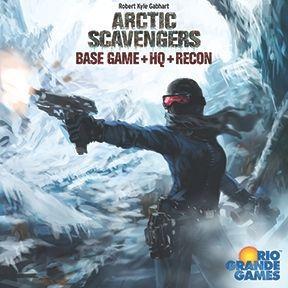 настольная игра Arctic Scavengers: Base Game+HQ+Recon Арктические Мусорщики: Базовая Игра + HQ + Разведка
