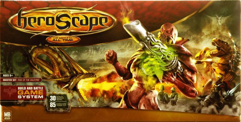 настольная игра Heroscape Master Set: Rise of the Valkyrie Heroscape Master Set: Восстание Валькирии