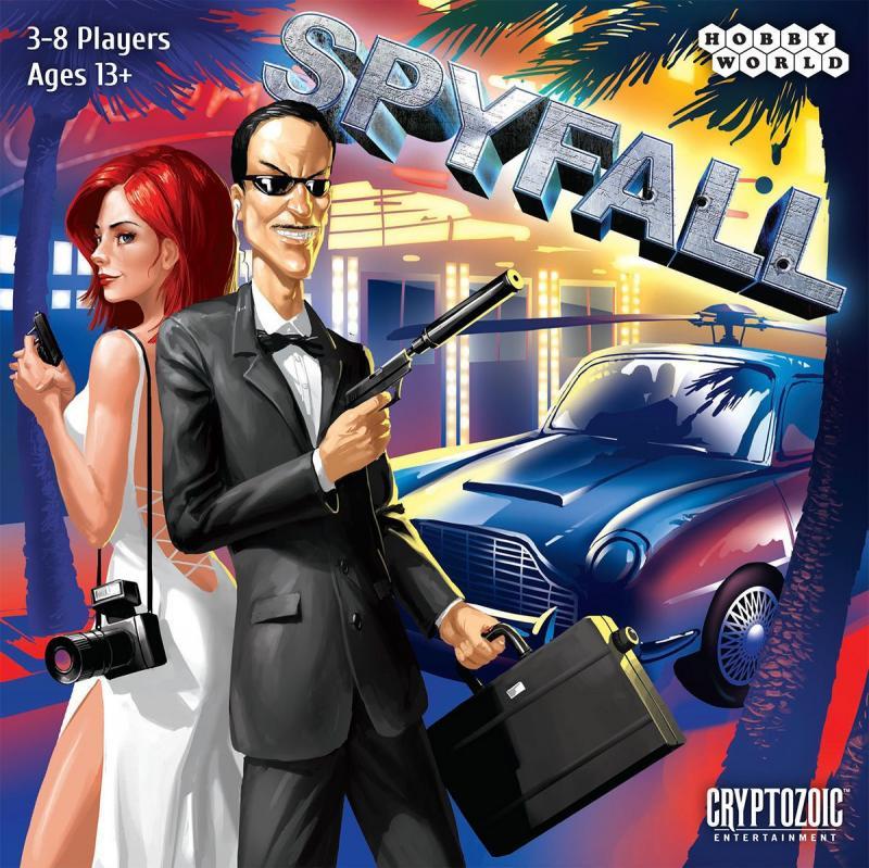 настольная игра Spyfall