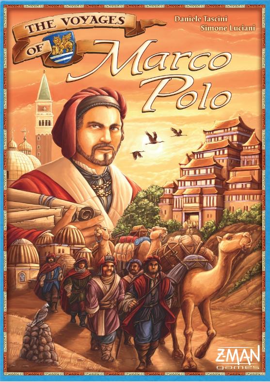 настольная игра The Voyages of Marco Polo Путешествие Марко Поло