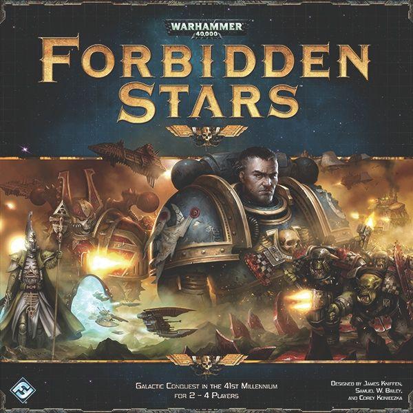 настольная игра Forbidden Stars Запретные звезды