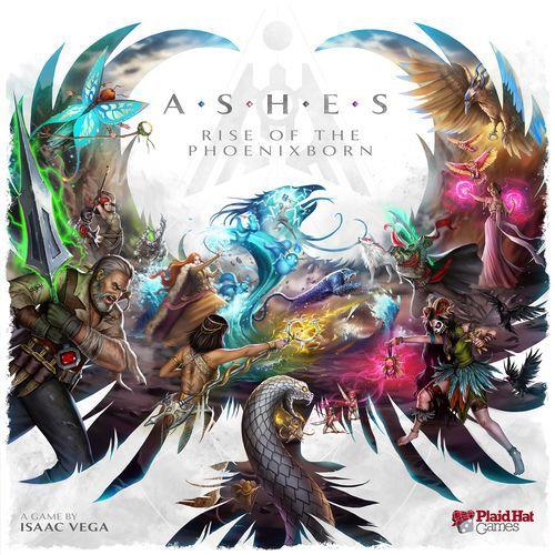 настольная игра Ashes: Rise of the Phoenixborn Пепел: Восстание Фениксборна