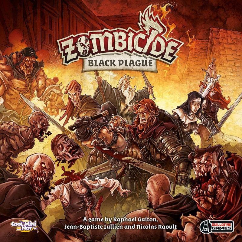 настольная игра Zombicide: Black Plague Зомбицид: Черная чума