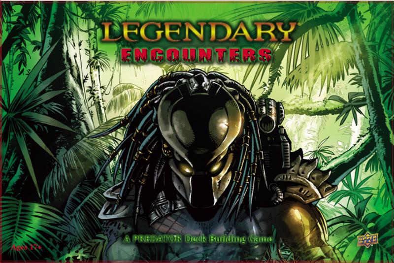 настольная игра Legendary Encounters: A Predator Deck Building Game Legendary Encounters: игра по строительству колоды хищников