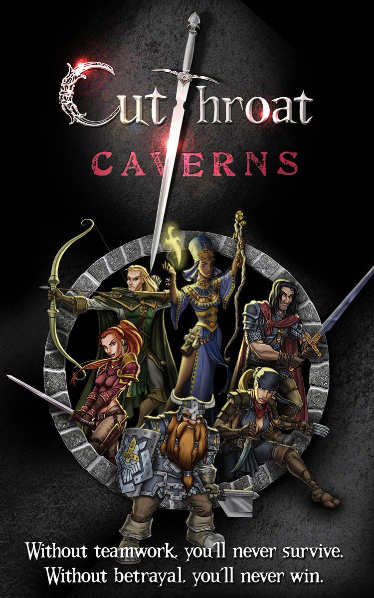 настольная игра Cutthroat Caverns Пещеры головорезов