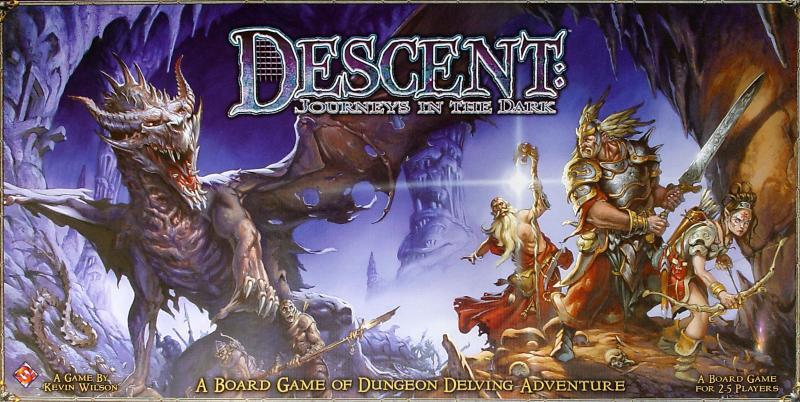настольная игра Descent: Journeys in the Dark Спуск: путешествия в темноте